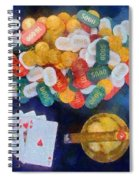 Royal Flush Spiral Notebook