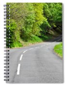 Rural Road Spiral Notebook