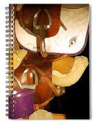 2 Saddles Bucket 14592 Spiral Notebook