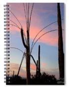 Saguaro Silhouettes Spiral Notebook