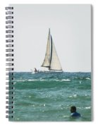 Sailing In California Spiral Notebook