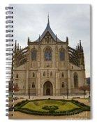Saint Barbara Church  Spiral Notebook