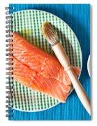 Salmon Fillets Spiral Notebook