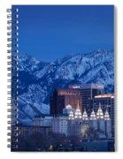 Salt Lake City Spiral Notebook
