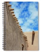 San Francisco De Asis Mission Church  Spiral Notebook