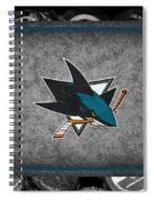 San Jose Sharks Spiral Notebook