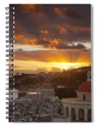 San Juan Sunrise Spiral Notebook