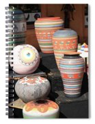 Santa Fe - Pottery Spiral Notebook