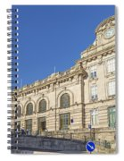 Sao Bento Railway Station Porto Portugal Spiral Notebook
