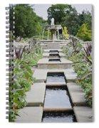 Sarah Lee Baker Perennial Garden 3 Spiral Notebook