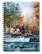 Scenic Falls Spiral Notebook