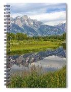 Schwabacher Landing - Grand Tetons Spiral Notebook