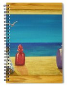 Sea View One Spiral Notebook