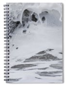 Seafoam Wave Spiral Notebook