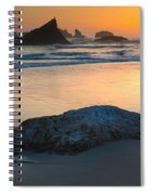 Seastacks, Oregon Coast Spiral Notebook