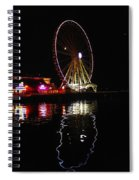 Seattle Ferris Wheel Spiral Notebook