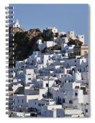 Serifos Town Spiral Notebook