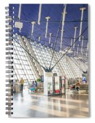 Shanghai Pudong Airport In China Spiral Notebook