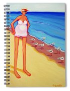 Shorebirds Of A Feather Spiral Notebook