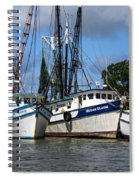 Saltwater Cowboys Spiral Notebook