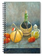 Sicilian Table Spiral Notebook