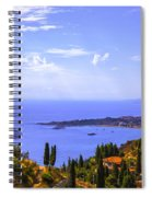 Sicily View Spiral Notebook