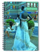 Sidewalk Catwalk 13 Spiral Notebook