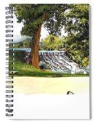 Silver Lake Mill -summer Spiral Notebook