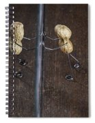 Simple Things - Apart Spiral Notebook