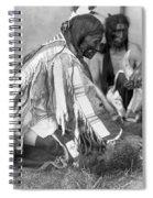 Sioux Medicine Man, C1907 Spiral Notebook