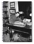 Sir Arthur Conan Doyle Spiral Notebook