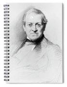 Sir Charles Wheatstone (1802-1875) Spiral Notebook