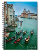 Six Gondolas Spiral Notebook