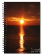 Sky On Fire Spiral Notebook