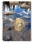 Sky Reflections Spiral Notebook