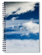Sky With Clouds Spiral Notebook