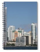 Skyline Miami Spiral Notebook