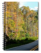 Smoky Mountain Road Trip Spiral Notebook