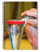 Snake Venom Extraction Spiral Notebook