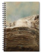 Snow Leopard Spiral Notebook