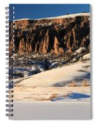 Soft Light Spiral Notebook