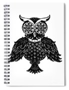 Sophisticated Owls 1 Of 4 Spiral Notebook