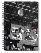 Spirit Room Bar Connor Hotel Jerome Arizona 1971-2013 Spiral Notebook