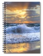 Splash Sunrise Spiral Notebook