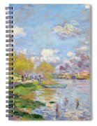 Spring By The Seine Spiral Notebook