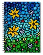 Spring Maidens Spiral Notebook