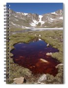 Mountain Lakes - Spring Thaw Spiral Notebook