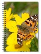 Springtime In Hydra Island Spiral Notebook