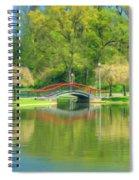Springtime Reflections Spiral Notebook