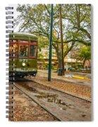 St. Charles Streetcar Spiral Notebook